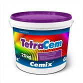 Tenkovrstvá omítka Cemix TetraCem v balení po 25 kg. (Zdroj: Cemix)