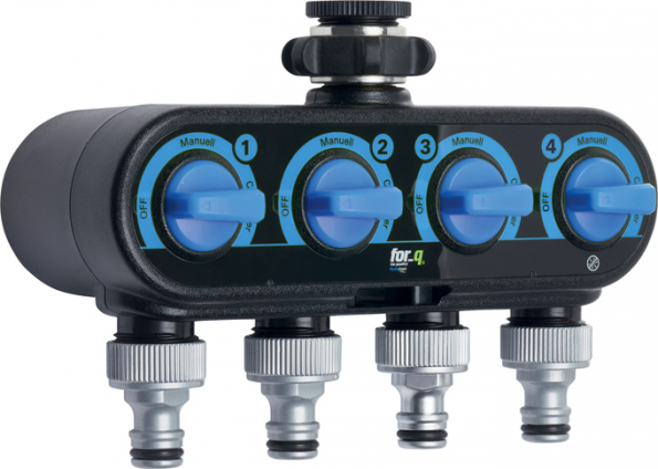 Čtyřcestný ventil for-q (Zdroj: HORNBACH)