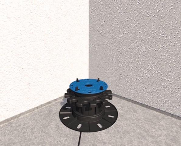 1. Terče se pokládají od rohů a od stěn směrem k okrajům plochy. U terčů je možné použít i protihlukové podložky, které je nutné dokoupit, nebývají součástí základní nabídky. (Zdroj: HPI-CZ)