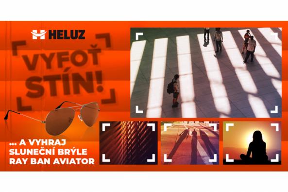 """Společnost HELUZ cihlářský průmysl vyhlásila ke Dni stínicí techniky (16. května) novou soutěž """"Vyfoť stín"""" o klasické sluneční brýle Ray Ban Aviator. (Zdroj: HELUZ)"""