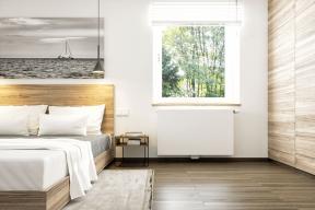 Ačkoli základní rolí topení je vyhřát interiér, čím dál více se na něj pohlíží i jako na prvek, který významně ovlivní celkový design bytu. (Zdroj: Korado)