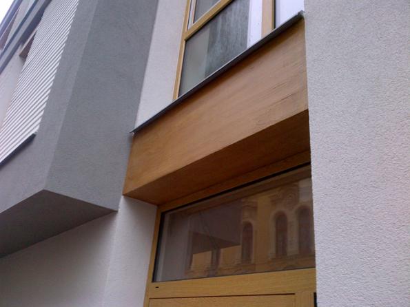 Bytový dům Fráni Šrámka. Kreativní technika fládrování. (Zdroj: Baumit, spol. s r.o.)