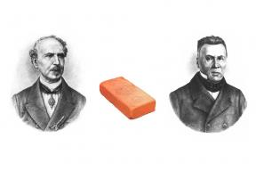 Zakladatelé společnosti Wienerberger Alois Miesbach a jeho synovec Heinrich Drasche