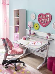 Pro děti je důležité mít vlastní pracovní místo spohodlnou ergonomickou židlí. Vhodné je vybírat znabídky rostoucího nábytku (Čílek)
