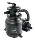 Písková filtrace Swing 4 m3/h je spolehlivé aúčinné filtrační zařízení, svým výkonem vhodné kbazénům doobjemu 15 m3 (MOUNTFIELD)