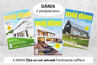 Kniha Žijte ve své zahradě Ferdinanda Lefflera jako dárek k předplatnému časopisu MŮJ DŮM!