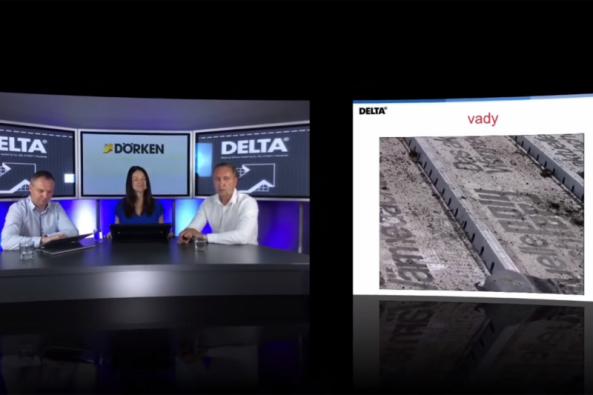 Ve třetím díle webinářů společnosti Dörken se s diskutujícími Karlem Bulínem a Milanem Skokanem zaměříme na správné navrhování izolace za použití systému DELTA-MAXX POLAR. (Zdroj: Dörken CZ/SK)