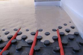 Anhydritová podlaha (Zdroj: Sika)