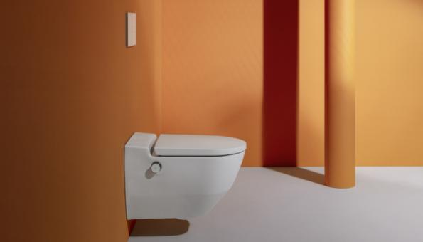 WC Cleanet Navia s bidetovou sprškou nabízí řadu pokročilých funkcí a jednoduché ovládání (Zdroj: Laufen)