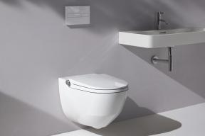 Toaleta Cleanet Riva vnáší do koupelny pohodlí a maximální důraz na hygienu (Zdroj: Laufen)