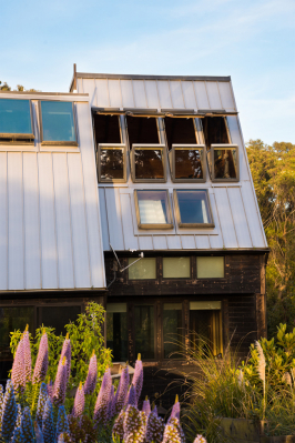 Psal se rok 2008. Jednoho deštivého dne, na tichém místě, daleko od hustě osídleného San Francisca, odhalil současný majitel dům ohraničený žlutou výstražnou páskou. Budova byla v žalostném stavu, ale stačilo se rozhlédnout, aby hned zjistil, že stojí na jedinečném místě. Tehdy se objevila ambiciózní myšlenka na uskutečnění neobvyklé renovace. (Zdroj: FAKRO)