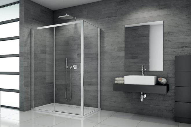 Výhodné sety – sprchové kouty řady SanSwiss TOPLINE