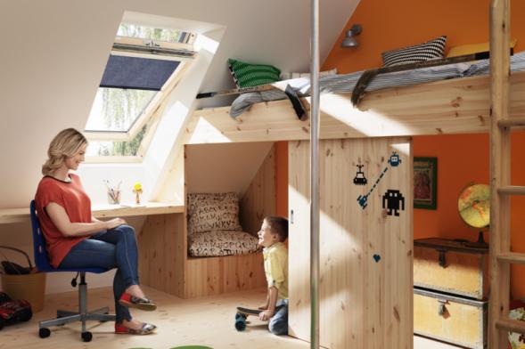 Učení a práce na domácích úkolech navíc půjde dětem snadněji, pokud bude v místnosti dostatek přirozeného denního světla