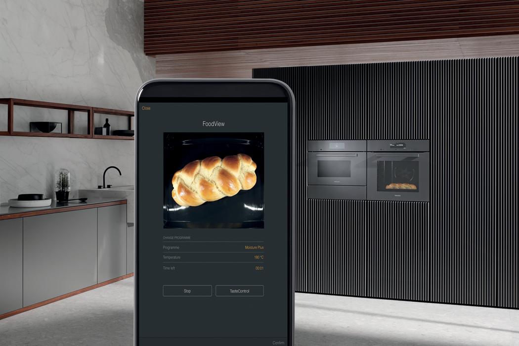 S vestavnými spotřebiči Miele generace 7000 se stává vaření intuitivnější