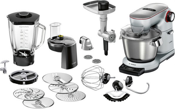 Kuchyňský robot Bosch OptiMUM MUM9BX5S61 příslušenství (Zdroj: Bosch)