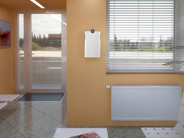 KORAVENT 100 zajistí automatické větrání avysoký útlum vnějšího hluku (Zdroj: KORADO)