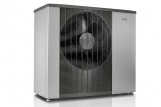 Tepelné čerpadlo systému vzduch-voda NIBE F2120 dosahuje energetické třídy A+++ a snižuje náklady na vytápění až o 80 % (Zdroj: DZ Dražice)