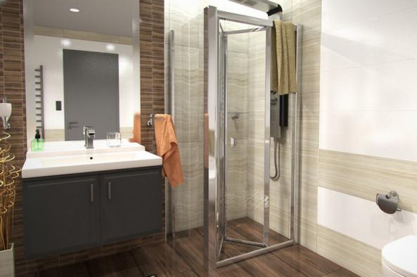 Elegantní řešení v moderních koupelnách představují odtokové žlaby. Díky nim totiž sprchový kout působí vzdušně a je sjednocený se zbytkem koupelny. Podlaha uvnitř koutu je totiž stejná jako v celém prostoru. (Zdroj: Levna-koupelna.cz)