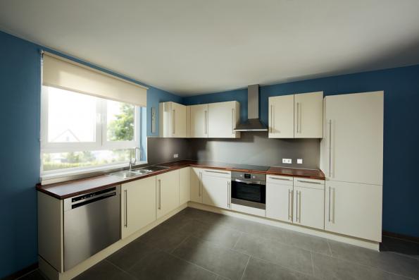 Kuchyně po renovaci (Zdroj: Hornbach)