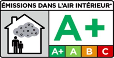 Certifikát Émissions dans l'air intérieur