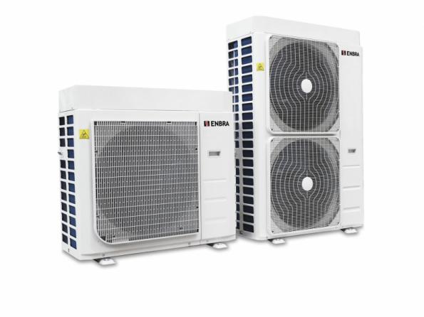 Volitelnou součástí tepelného čerpadla ENBRA Monoblok je modul EMIX pro přípravu teplé vody. Další volitelnou možností je wi-fi modul, prostřednictvím kterého je zařízení připraveno pro integraci do moderních systémů tzv. Internetu věcí (IoT) (ENBRA)
