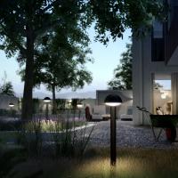 Venkovní sloupkové LED svítidlo Philips Dust nabízí moderní design a představuje energeticky úsporný zdroj světla s dlouhou dobou života, cena cca 1 500 Kč