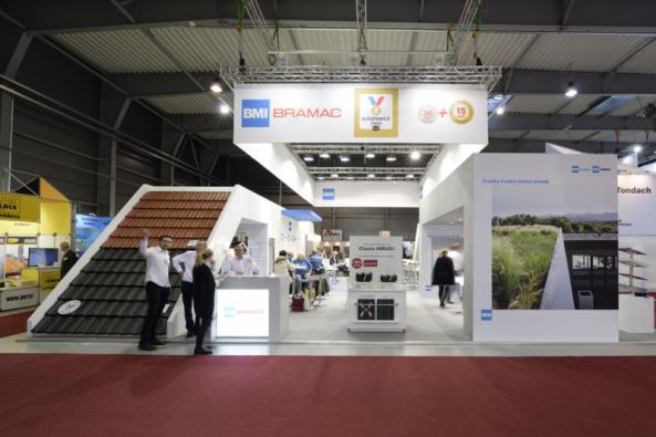 BRAMAC, přední český výrobce a dodavatel střešních krytin a doplňků, se již tradičně zúčastní veletrhu Střechy Praha 2020, který proběhne ve dnech 6.–8. února na výstavišti vLetňanech. Na stánku o rozloze 228 m2 bude vystavovat společně sfirmou ICOPAL VEDAG, která je stejně jako BRAMAC součástí nadnárodní skupiny BMI Group. (Zdroj: Bramac)