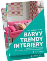 Kniha Barvy, trendy, interiéry