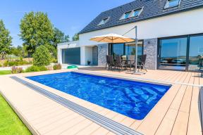 Keramický bazén řady Compact, model Ametyst. (Zdroj: Mountfield)