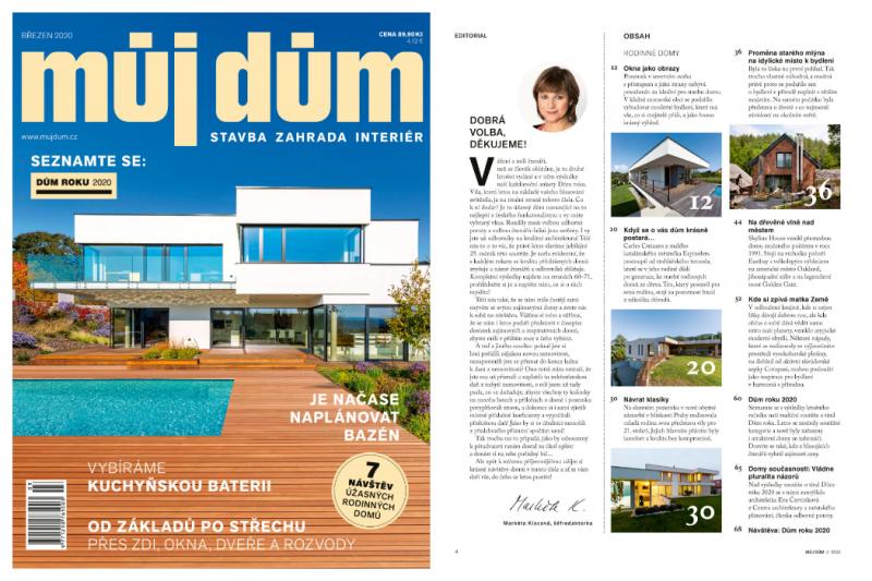 Vyšlo nové číslo časopisu Můj dům. Nenechte si ho ujít!