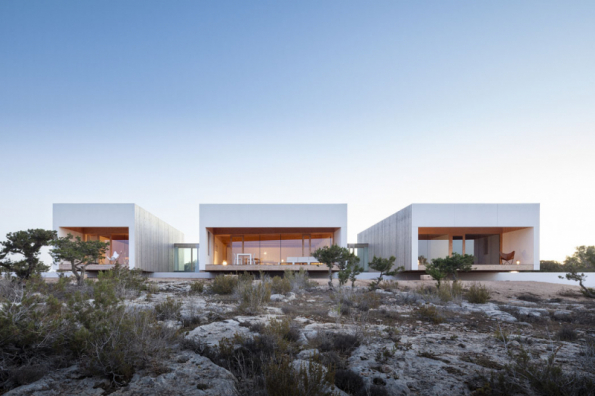 1. místo získal dům Z01 na Formenteře, autor Marià Castelló Martínez