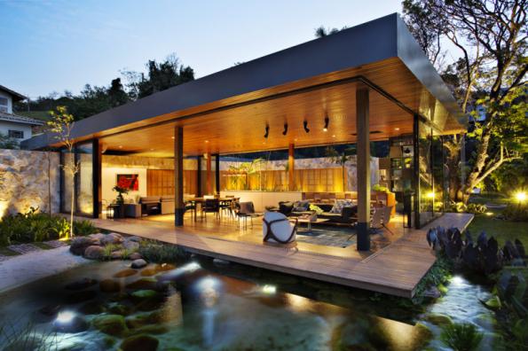2. místo získal dům Z02 z Brazílie, autorem je architekt Otto Felix