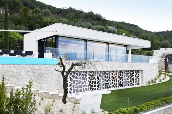 3. místo získal dům Z07 z Itálie, navrhla společnost Dreer – Graf (Německo)