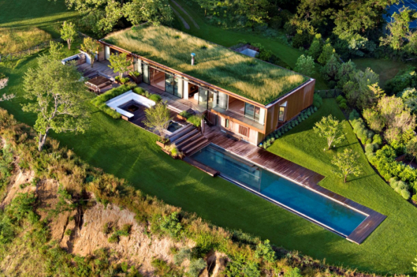 1. místo získal dům Z14 z USA, autoři jsou architekti Colin Brice a Caleb Mulvena