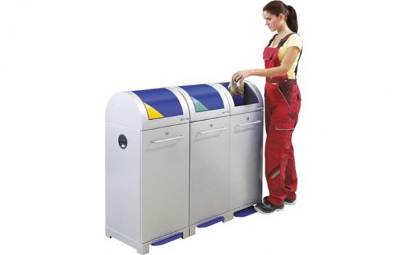 Systémová nádoba na tříděný odpad Eurokraft (Zdroj: KAISER+KRAFT)
