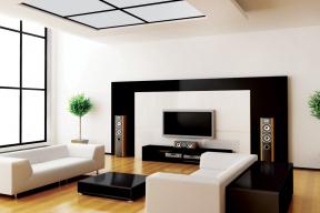 Trend hladkých stěn v interiéru (Zdroj: Baumit)
