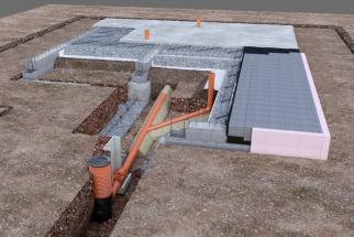 První fáze stavby rodinného domu – základová deska (DEK)