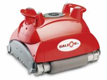Automatický bazénový vysavač Galeon FL nečistoty ze dna bazénu sám setře a odsaje do své vlastní filtrační jednotky, kde jsou zachyceny (MOUNTFIELD)