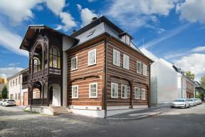 Historický dům v Novém Boru (Zdroj: Solara)