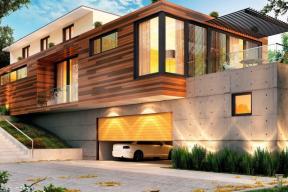 Nezbytnou součást garáže tvoří garážová vrata, která prostor uzavírají a ochraňují, zároveň mohou sloužit i jako tepelná a protihluková izolace