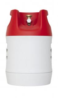 Kompozitová plynová lahev 7,5 kg 100% propan (Zdroj: TOMEGAS)