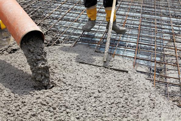 Realizace vylévání betonu