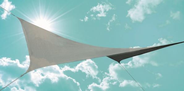 Sluneční plachta čtvercová
