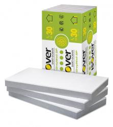 Nejnovější desky pro ETICS ISOVER EPS GreyWall SP (Sun Protect) mají šedé jádro opatřené bílou vnější ochrannou vrstvou, která umožňuje montáž na přímém slunci včetně montáže z lávek.
