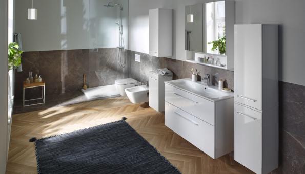 Koupelna Geberit Selnova nabízí řešení pro koupelny všech velikostí (Zdroj: GEBERIT)