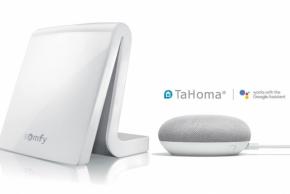 TaHoma set s Google Home (Zdroj: Somfy)