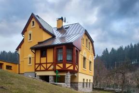 Realizace rodinného domu, Lučany nad Nisou (zdroj: Baumit)