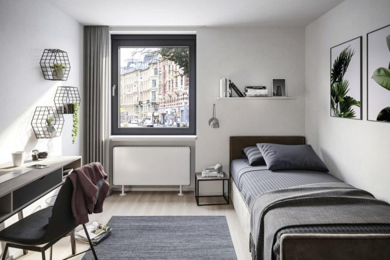 Schüco VentoFrame Asonic zajistí v interiéru čerstvý vzduch i klid