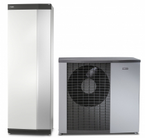 Vnitřní systémová jednotka VVM S320 atepelné čerpadlo systému vzduch-voda NIBE F2120 (Zdroj: NIBE)