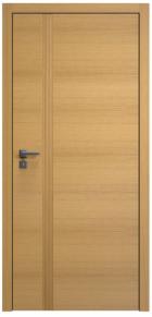 Dveře Akord jsou typické svou vertikální lištou, kterou lze vyfrézovat, zvolit kovolaminát či vysoký lesk. Tuto lištu mají plné i prosklené varianty (SAPELI)